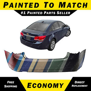 Details about NEW Painted To Match - Rear Bumper Cover For 2011-2015 Chevy  Chevrolet Cruze