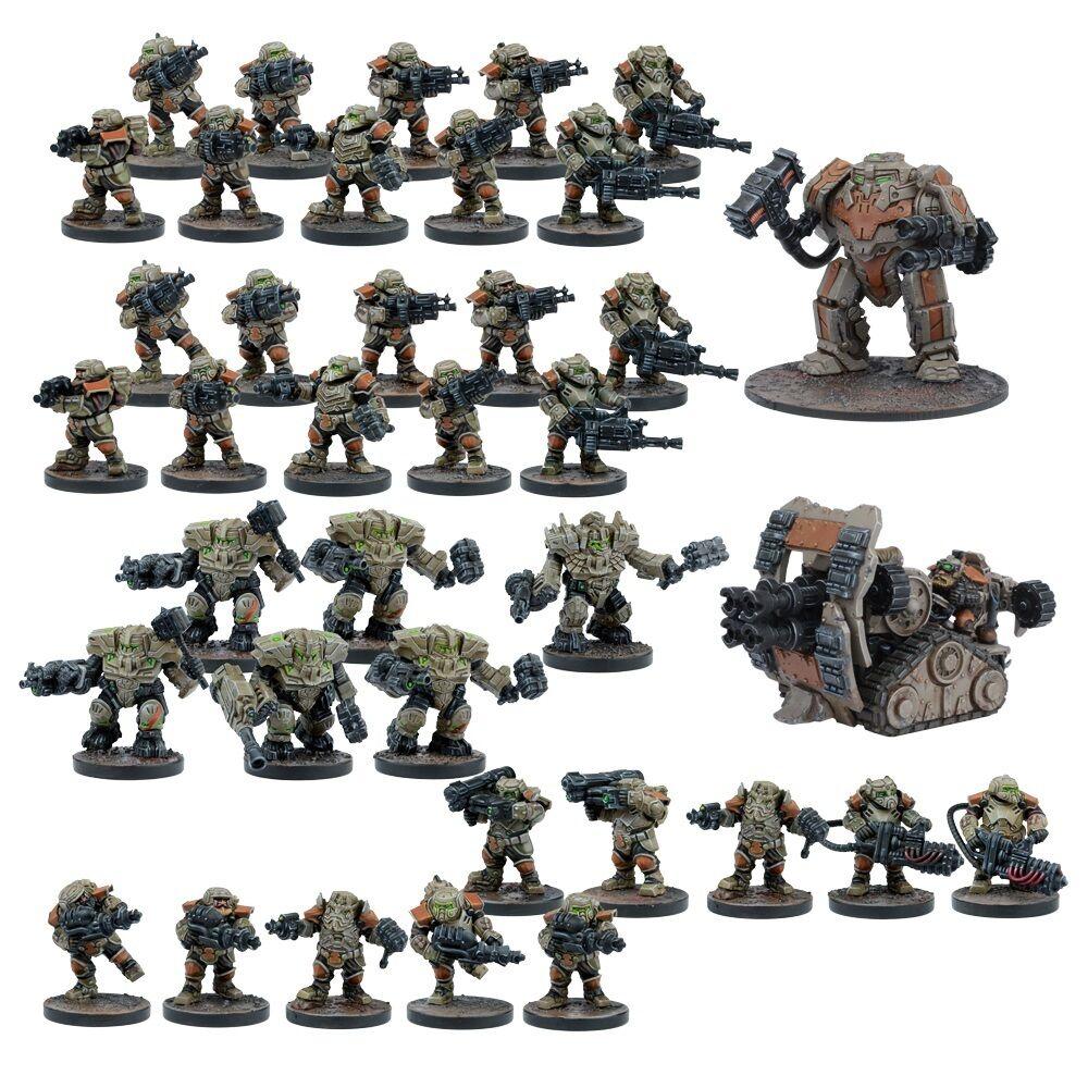 Mantic Games sentier de la guerre Entièrement neuf dans sa boîte FORGE père Starter Force mgwpf 101