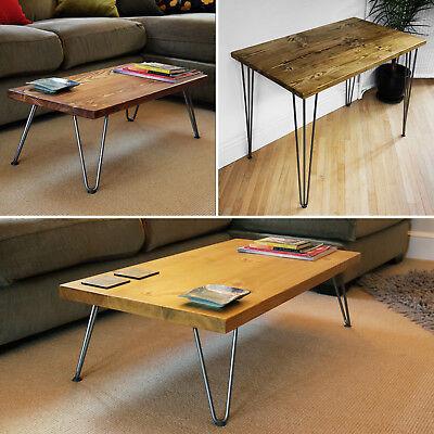 Hairpin Legs Coffee Table Side
