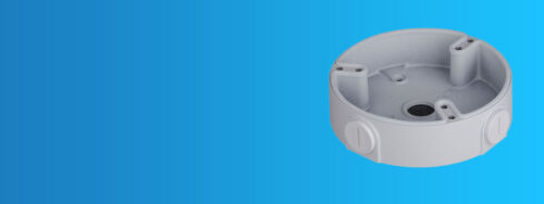 """4.8 x 1.3/"""" DAHUA PFA137 Water-Proof Junction Box for Dome Camera"""