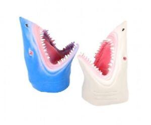 Shark marionnette à main-NV233 en Plastique Souple Gant Mâchoires tête dents Kids Fun Toy  </span>