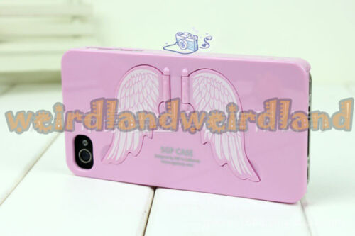 Angel/'s Wings Case for iPhone SE//5//5S Quality Product Stand Cover WeirdLand