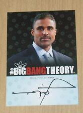 2013 Cryptozoic Big Bang Theory Season 3/4 autograph Rick Fox as Glenn A18
