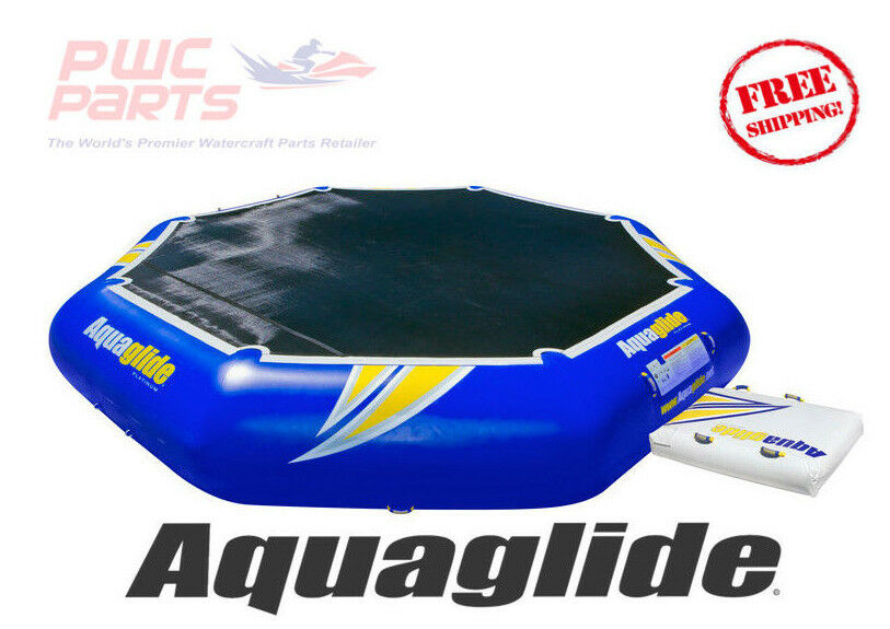 AQUAGLIDE REBOUND 20 Commercial Bouncer Pool Beach Lake Toy DuraTex 58-5213005