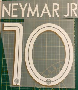 FLOCAGE NEYMAR JR #10 Paris 2020-2021 Third Nameset. Champions League