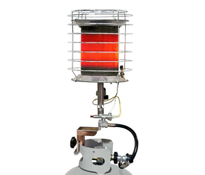 Propane Portable Gas Radiant Heater Propane Tank Top ...