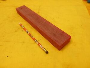 Image Is Loading Red Acrylic Bar Machinable Plastic Flat Sheet Stock