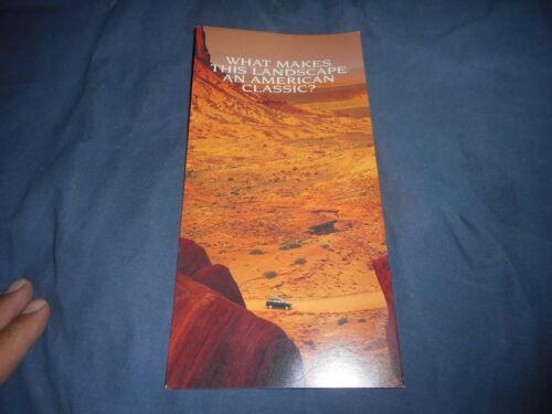 1996 Jeep Cherokee Classic Edition Color Brochure Prospekt