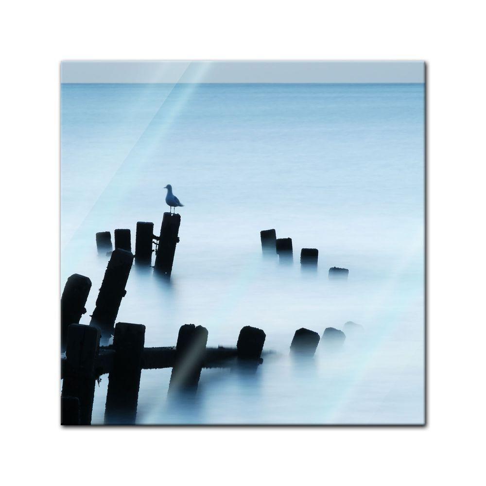 Immagine di vetro-Moonlit Sea, Norfolk