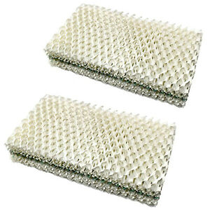 4x HQRP Humidifier Wick Filters for WEB Humidifying Floor Vent Register