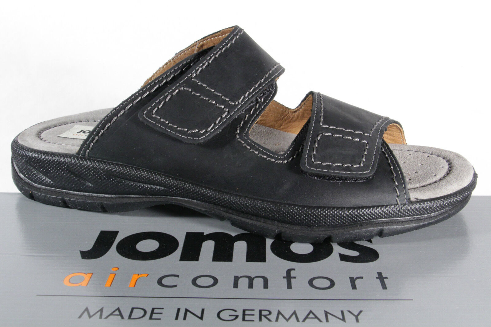 Jomos Men's Slippers Pantolette Clogs Genuine Leather 503601  Nuovo  nuovi prodotti novità