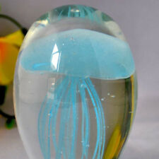 Glass Paperweight With Two Jellyfish Decorations Decorative Arts Other Antique Decorative Arts Almoneda.