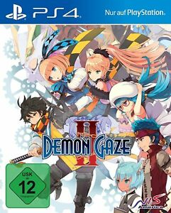 Demon Gaze 2 II         PS4       Playstation 4            !!!!! NEU+OVP !!!!!