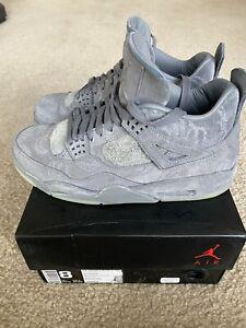 Details about Nike Air Jordan 4 Retro KAWS Sneaker Cool Grey Kaws X Size US 8 Michael Jordan????