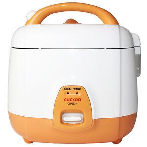 Elektrischer Reiskocher von Cuckoo, Typ CR-0331 (1-3 Personen, 0,54L)