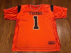 Details About Auburn Tigers 1 Colosseum Athletics Ncaa Orange College Football Jersey Xxl