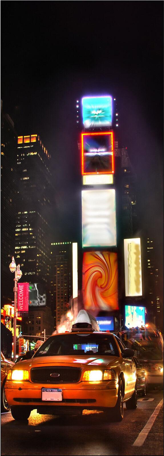 Plakat Plakat Tür Deko Schein Auge New York Taxi Ref 704 - 4 Größe