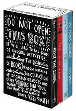 Do Not Open This Box Collection Keri Smith 4 Books Set Wreck This Journal Mess