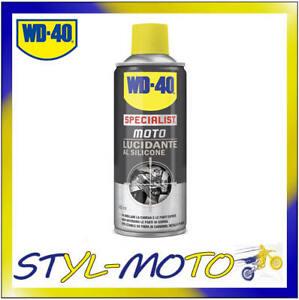 39021/46 WD40 WD-40 LUCIDANTE AL SILICONE X MOTO PLASTICA CARBONIO 400 ML