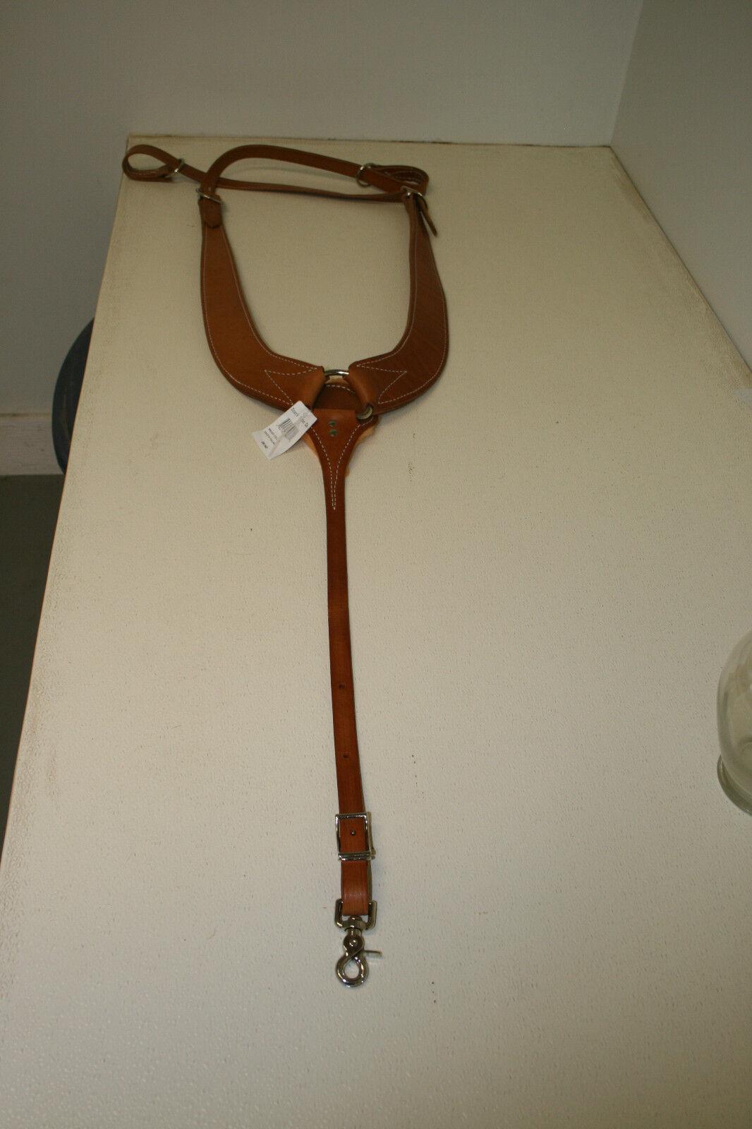 New  Ozark Leather Dakota Pulling Breast Collar (08160)  70% off cheap
