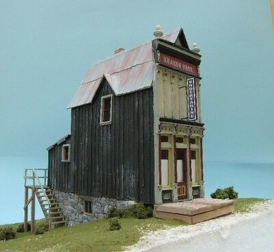 Kharon Bro Funeral Parlor by Tom Yorke Branline Resin kit with detail O On3 On30