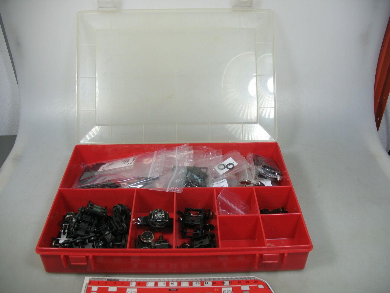 AE635-3   Caja Surtido con H0   Dc-Ersatzteilen Roco, Trix Etc.
