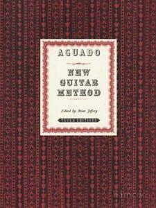 Aguado Nouvelle Guitare Méthode Classique Espagnol Music Book-afficher Le Titre D'origine Correspondant En Couleur