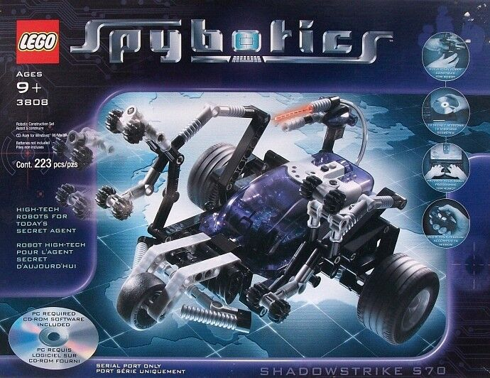 Lego Technic Spybotics 3808 Shadowstrike S70 NEW Sealed Ships World Wide
