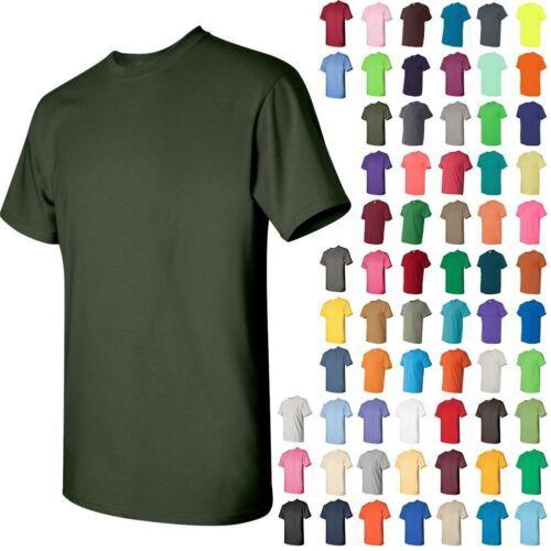 Gildan  BUDGET Mens Heavy Cotton Short Sleeve T-Shirt Cotton XL  5000 5 PACK