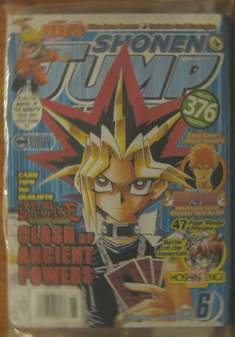 Shonen Jump June 2007, issue 6 factory sealed Mint brand new