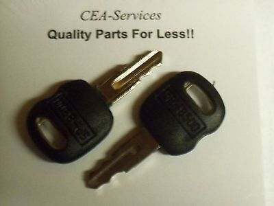 2 5p8500 Old Ignition Keys Fits Cat Caterpillar & Asv Positrack 0310-072 L1 Famous For Selected Materials Delightful Colors And Exquisite Workmanship Novel Designs