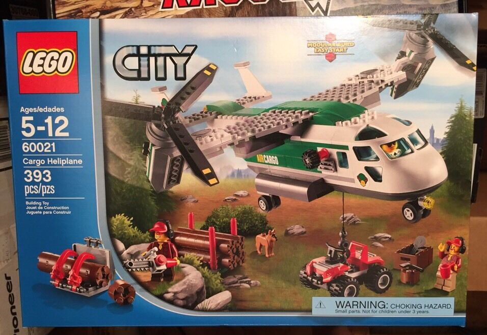 LEGO 60021 City Cargo Heliplane RETIRED RETIRED RETIRED Collectible Hard To Find NEW 19ffeb