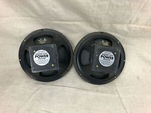 Vintage-1970-039-s-Sound-City-12-034-Guitar-Amp-Speakers-Open-Voice-Coil-Need-Repair