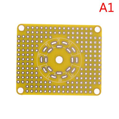 Universal Prototype PCB pour 8Pin 7pin//9pin Tube Amplificateur Préampli casque Valve