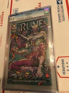 RUNE-0-Malibu-Comics-1-94-CGC-9-2-Mail-Away-exclusive-Barry-W-Smith-vampire