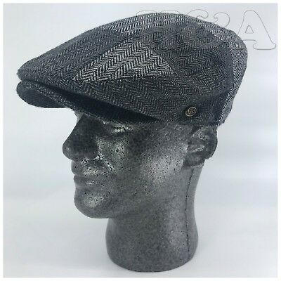 Men/'s Cabbie Newsboy Applejack Paperboy Multi Color Patch Work Snapbill Ivy Hat