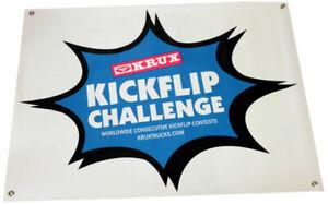 KRUX-TRUCKS-KICKFLIP-CHALLENGE-Logo-Skateboard-Banner-30-in-X-36-in