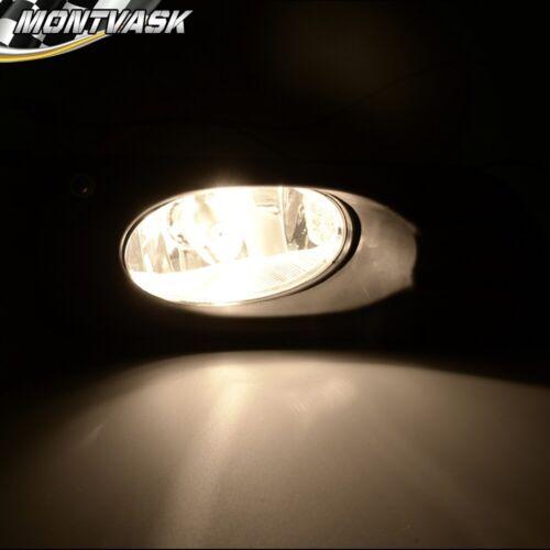 For 2006-2007 HONDA ACCORD 4DR SEDAN Clear Lens Fog Lights Kit Switch