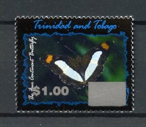 Trinidad-amp-Tobago-2017-neuf-sans-charniere-4-continent-Papillon-Ovpt-1-V-Set-BUTTERFLIES-STAMPS