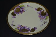 P T TIRSCHENREUTH BAVARIA HAND PAINTED SIGNED PLATE