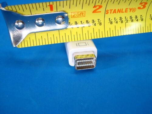 MINI DVI PORT TO VGA ADAPTER FOR APPLE MAC LAPTOP MACBOOK IMAC DISPLAY MONITOR !