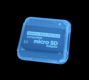 TF-Micro-SD-SDHC-to-MS-Memory-Stick-Pro-Duo-Adapter-For-PSP-Plastic-Case