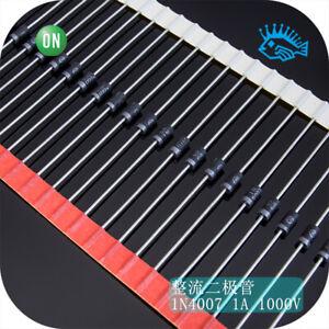 10-100pcs-original-ON-1N4007RLG-high-speed-rectifier-diode-1A-1000V-copper-feet