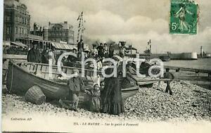 1910 LE HAVRE (FRANCE) Sure le galet à Frascati - Carte Postale FP VG | eBay