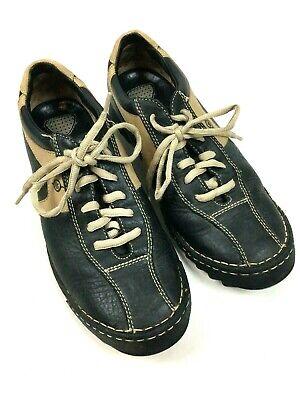 born men's shoes 10 44 oxfords lace up casual black beige