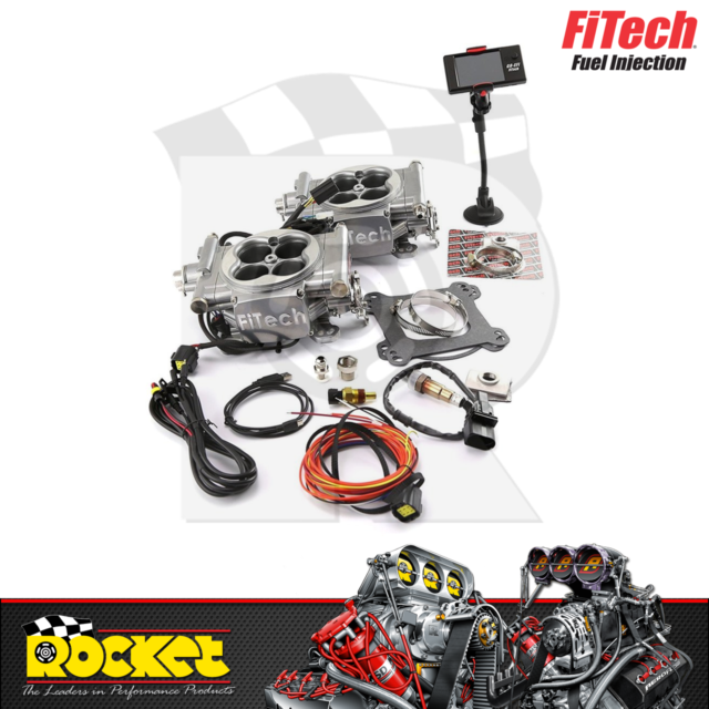 FiTech Go EFI 2x4 625HP Dual Quad Self Tuning Fuel Injection System - FH30061