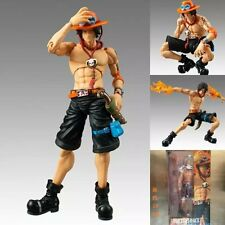 7'' Figma Anime One Piece Portgas·D· Ace Movable Action Figure Toy Figurine Doll