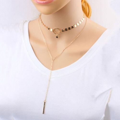 Women Charm Gold Silver Bikini Crossover Waist Belly Harness Body Chain Necklace