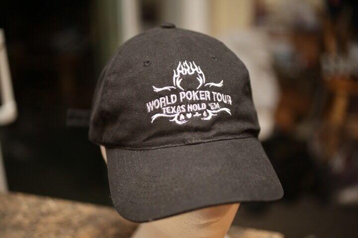 RARE Official World Poker Tour Texas Hat Hold Em Strap back Hat Texas Cap 8a1367
