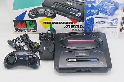 SEGA MEGA DRIVE2 Console HAA-2502 JP VG w/Box 424e01